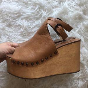 2b987d69347 Matisse Shoes - Matisse Tiegs Platform Studded Sandal Chunky Heels